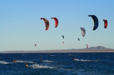 kiteboarding in the la ventana classic