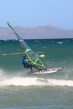 Windsurfing competitor in the la ventana classic