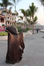 A Boardwalk Sculpture in Vallarta