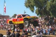 a trophy truck, baja 1000