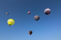 Balloon filled skies