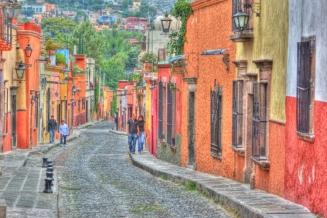 cobblestone streets of sma