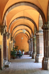 cultural center cafe, San Miguel de Allende, MX
