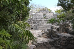 inside the maya archeological zone