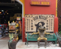 Tequila for sale along with a history lesson