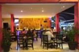 open air bar on La Quinta