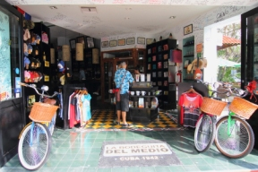 Offers speciality merchandise, cuban cigars, a restaurant with cuban food and music