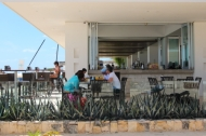 Mamita's Beach Club Bar and Restaurant also serves guest on the beach