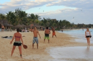paddleball is a favorite recreational activity at mamita's