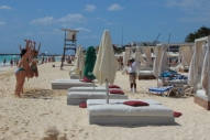 girls jumping for joy at mamita's beach