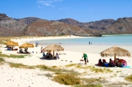 Balandra Beach, a protected biospheres and top ten travelers choice pic for best beach in Mexico