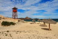 Playa Cabo Pulmo, Baja California Sur, only coral reefs for scuba divers and snorkeling in this area