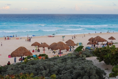Playa Delfines, a blueflag awarded beach in Cancun