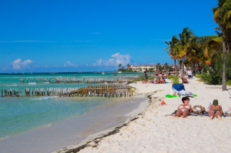 Playa Norte, Isla Mujeres, a top ten travelers choice beach in the Caribbean