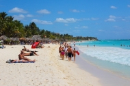Mamita's Beach, Playa del Carmen, U.S. News and Travel rates Playa del Carmen as the best apres beach town in Mexico