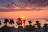 El Corumel, La Paz, Baja, sea of cortez, best sunset beach in the area