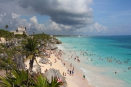 Tulum Beaches, Maya Riviera, U.S. News and Travel rates Tulum beaches as the best in Mexico