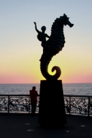 El Caballito a monument in Puerto Vallarta dedicated to the sea