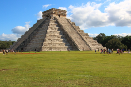 Temple of Kukulcan or El Castillo