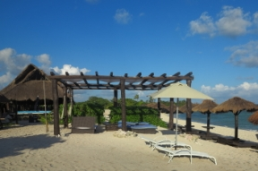 Ocean, Beach, Palapa Bar and Restaurant