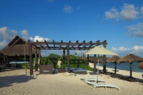 Ocean, Beach, Palapa Bar and Restaurant