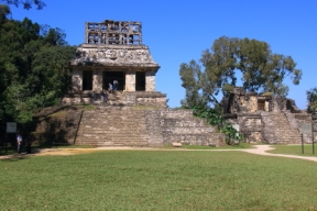 Found in the complex of the cross and triad of Palenque