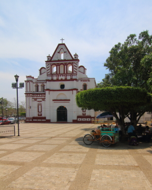 The Santo Domingo Church and former monastery was buildt in the 16 century and is the largest structure in the city