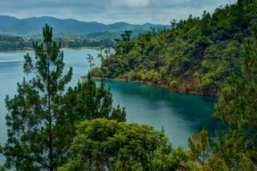 Lake Tzisco is one of the 5 Montebello Lakes less than an hours drive from Comitan