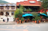 the cultural center of Ajijic and a good restaurant next door are also in the plaza