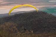 Hang gliding at park la ceja