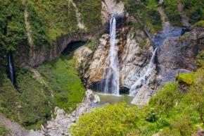Manto de la Novia waterfalls