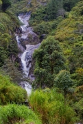 The Chamana waterfalls