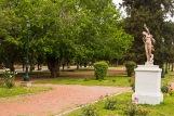one od 34 statutes in Parque San Martin