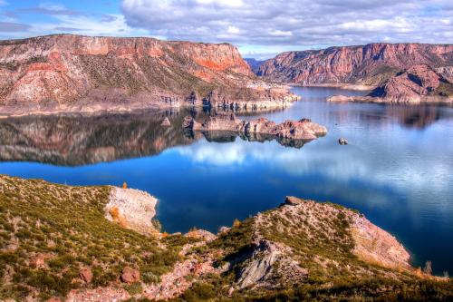 Lago Valle Grande, Argentina