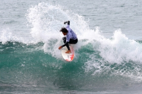 Playa San Miguel surf contest