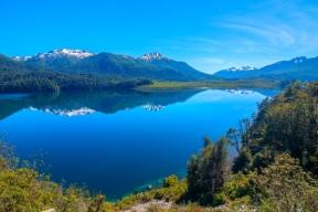 Lake Espejo (mirror lake) on 7 lakes tour