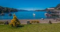 Lake Nahuel Huapi, on the 7 lakes tour