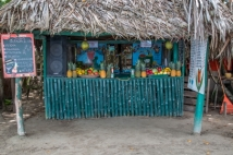 juice bar on starfish beach